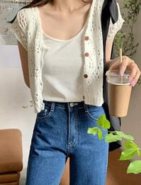 Coco Farm Punch Crop Cardigan