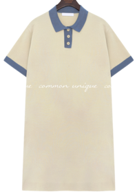 Collared Knit Dress