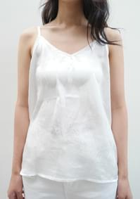 wrinkle gloss sleeveless