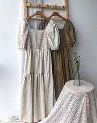 Linen Love Long Dress