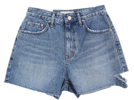Opening short denim