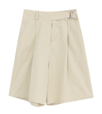 Belt banding short pants