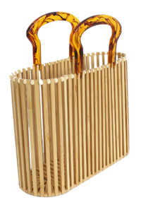 Wood Bamboo Bag