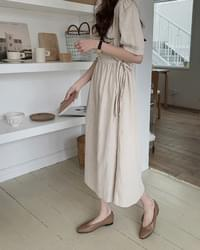 Annie Linen Long Dress