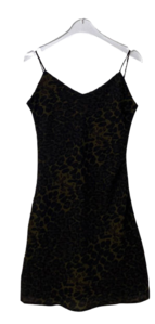 Leopard Tend Mini Dress