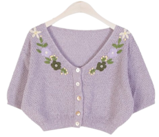 ★10,000 discount ★Joan Flower Embroidery CD ♥ Crop