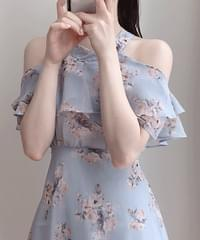 Hina Flower Off Shoulder Dress