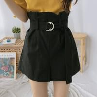 Highsome belted shorts