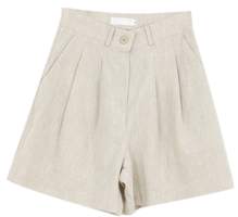 Two pintuck short pants