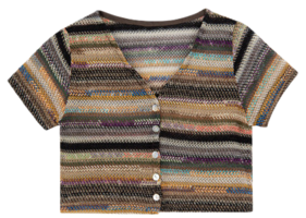 Cabel short sleeve cardigan