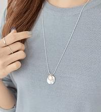 Two-tone matte necklace #85530