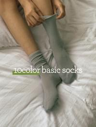 Daily Soft Tension Long Socks
