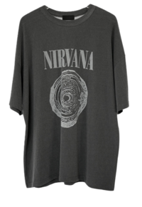 nirvana vintage washing T-shirt 短袖上衣