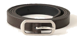 Slim Square Buckle Belt