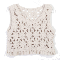 Eyelet knitting knit