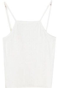 Punching Color Sleeveless