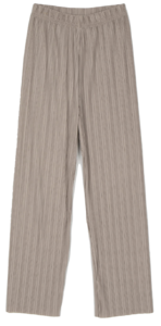 Site pleated trousers