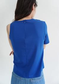 asymmetry cotton top