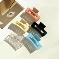 Acrylic transparent square hole hair clip 5color