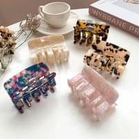 French marble mother-of-pearl hair clip collection