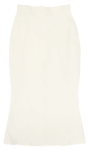 Basic plain Mermaid skirt-3color