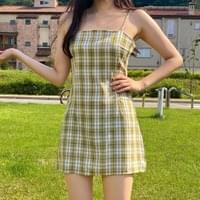 Hey Lin Check Nashi Mini Dress 3colors