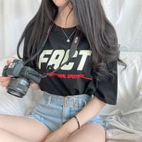 Fact Round Short-sleeved T-YW614