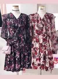 Restock ♥ Juliet Flower Frill Dress