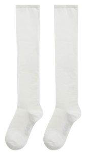 ESSAYSolid Tone Cotton Knee-High Socks