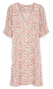 Jerry floral midi dress