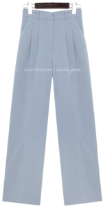 Dart Tuck Loose Slacks