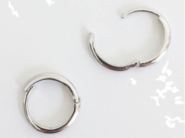 (silver925) onetouch earring