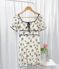 Chinese zodiac flower dress