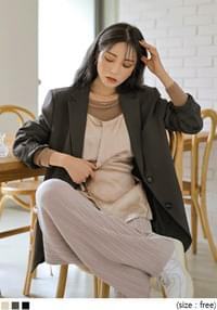 FROW BOXY FIT SINGLE JACKET