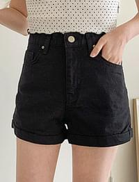 Buying roll-up short pants