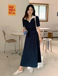 Love Me Flare Bending Long Dress