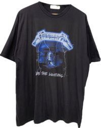 Metallica Printing Short Sleeve Tee