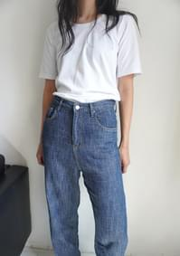semi over-fit tee