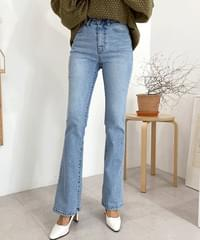 Rongrong high waist Flared jeans