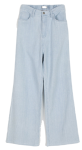 Aid high-rise wide pants