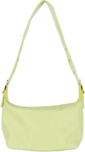 Painted buckle shoulder bag