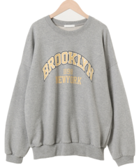Brooklyn printing sweat shirt