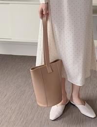 Leather Cylindrical Bag