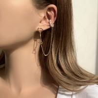 A collection of daily ear cuffs that can be pierced