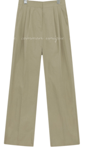 DAVEN PINTUCK WIDE PANTS