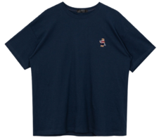 Short sleeve embroidery