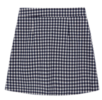 Summer check mini skirt