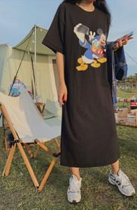 Genuine Disney/ Selfie Mickey Friends Long Dress