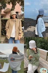 Camping cotton bucket hat