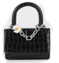 Mini chain animal pattern two-way shoulder bag